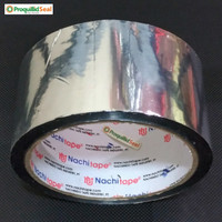 Lakban AC Isolasi Metalizing 48MM Nachi Metalized Duct Tape 2IN 2 Inch