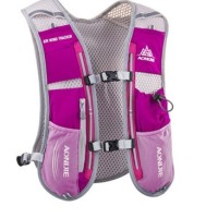 AONIJIE AIR WIND TRACKER ROSE RED - HYDRATION BACKPACK - TAS LARI