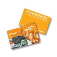 Kartu e-Money / eMoney Eksklusif Tokopedia - Edisi  Transjakarta