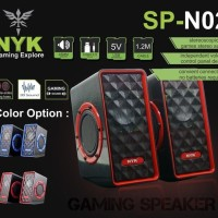 speaker gaming PC dan Laptop NYK SP-N02 speaker NYK super bass