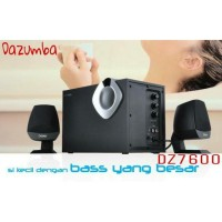Speaker Aktif With USB + SD/MMC Dazumba DZ7600