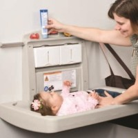 HOT RUBBERMAID Baby Changing Stations ( FG781888 )
