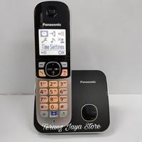 Telepon Wireless Panasonic KX-TG6811 Wireless Phone TG 6811 (Hitam)