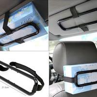 Car Holder Smart Tissue Alat Penjepit Tempat Tissue Di Mobil Murah