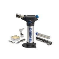 new Dremel VersaFlame 2200-4 Solder Torch Butan Stationary + 4
