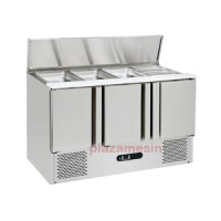 Under Counter Chiller For Salad Dan Pizza Tipe SC-04-3D
