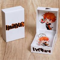 Gantungan Kunci Anime Haikyuu Karakter Hinata B