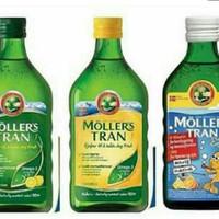 mollers trans tutti frutti / original / lemon 250ml 100% original
