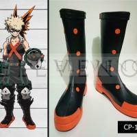 Sepatu Cosplay Boku no Hero Academia Bakugou