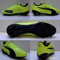 Sepatu bola soccers puma evospeed SL komponen kuning stabilo import
