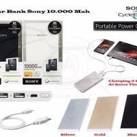 Power Bank SONY Portable Charger 10 000 Mah REAL CAPACITY