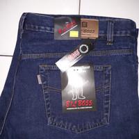 celana pendek jeans pria big size jumbo 39-48