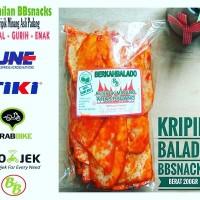 KERIPIK SANJAY BALADO / KRUPUK PADANG BBSNACKS