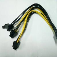Kabel Power VGA Card Spiltter PCIE PCI-E 8pin to Dual 8pin 6+2 pin