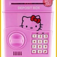 [PROMO] Mainan Edukasi Anak Celengan ATM Brankas Safe Bank Kitty
