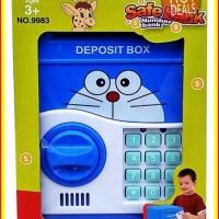 [PROMO] Mainan Edukatif / Edukasi Anak Celengan ATM Brankas Bank