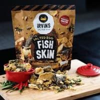 Irvin Fish Skin dan Irvin Potato Chips Salted Egg 110 gram
