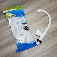 Kenmaster KM-KF01 Keran Plastik Belimbing - Kran Leher Angsa buat Zink