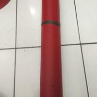 (Gojek) Karpet talang merah hitam 90cm(86cm)