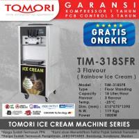 Mesin Es Krim 3 Tuas (Rainbow Ice Cream) TOMORI TIM-318SFR