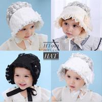 new holland baby hat topi anak bayi renda girl cewek perempuan balita