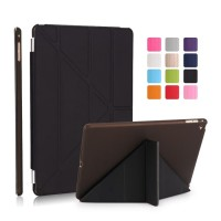 iPad 2 3 4 & iPad Mini 1 2 3 4 & Air 2 Case Smart Cover Transparant