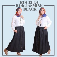 Rocella Rok Jeans/Denim (Size S-M/L-XL) - Hitam, S