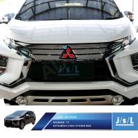 Stiker Logo Mitsubishi Xpander Merah Depan Belakang Sticker Tahan Air
