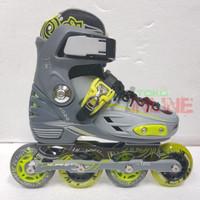 Sepatu Roda LYNX BM137 Recreational Inline Skate - GREY/GREEN