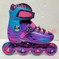 Sepatu Roda LYNX BM137 Recreational Inline Skate - Purple/Blue