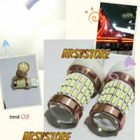 Lampu Mundur LED T20 LED ROTARY 60 mata Proji Mobil Extrime Bright