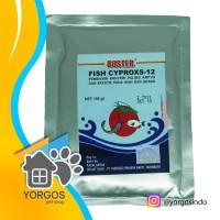 Boster Fish Cyproxs 12 Antibiotik Ikan Ciprofloxacin