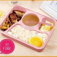 [ITEM 392] LUNCH BOX YOOYEE Kotak Makan Sup 4 Sekat Bento