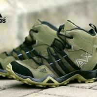 Sepatu Adidas AX2 High Sepatu Tracking Sepatu Olahraga Cream