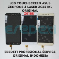LCD TOUCHSCREEN ASUS ZENFONE 3 LASER ZC551KL ORIGINAL KD-002288 - Putih
