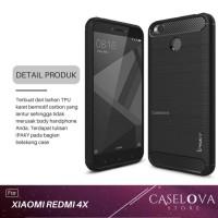 Case For Xiaomi Redmi 4X / 4X Prime Premium Softcase iPAKY Carbon