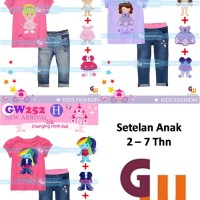 Setelan Jeans Anak 2-7Th Sofia Pony