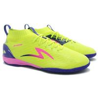 Sepatu Futsal Specs Accelerator Infinity IN Solar Slime Naval Blue