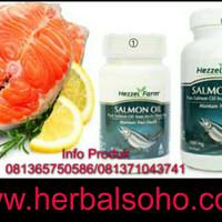 Salmon Oil 90 Kapsul (Unihealth/Nutrisi Otak dan Jantung)