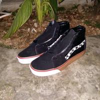 Sepatu Vans SK8 Black gum checker board  Premium Quality