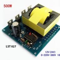 Modul Inverter 500w 12v DC 220v AC 500 w watt 12 220 v volt Accu PCB