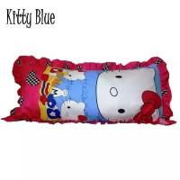 Sarung Bantal Cinta Monalisa Hello Kitty