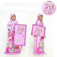 MKNM - MUKENA ANAK 2-3 TAHUN PINK GIRLY