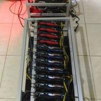 Mining Rig - Mining Bitcoin - Mining VGA - GTX 1050ti