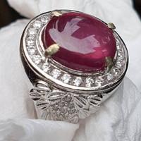 Batu Cincin Natural Ruby 01