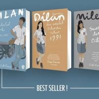PAKET NOVEL DILAN [3 Buku]. Dilan 1, Dilan 2, & Milea
