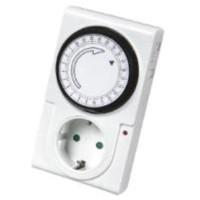 TIMER 24 Jam Stop Kontak Analog / Alat Pengatur Waktu Otomatis