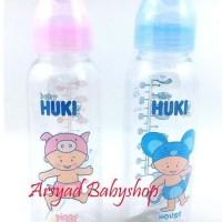 BABY HUKI BOTOL SUSU  BULAT DAN DOT ORTHODONTIC NIPPLE 120 ML