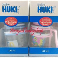BABY HUKI BOTOL SUSU 120 ML DENGAN HANDLE