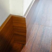 Skirting/plin (D076) Accessories untuk lantai kayu Parket/ Vinyl